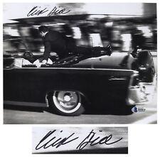 JFK Assassination Clint Hill Signed 10'' x 8'' Photo