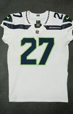 2017 Eddie Lacy Seattle Seahawks Game Used Worn Football Jersey! Alabama Matched
