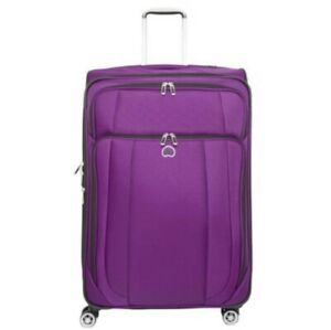 """Delsey Purple Helium Cruise Spinner Suitcase 29"""""""