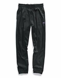 Champion Authentic Men's Athletic Pants Closed Bottom Jersey Sweatpants Workout