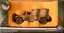 VEHICULE HUMVEE BACHE SOLIDO MILITARY 1 1/50 ARMY NEW