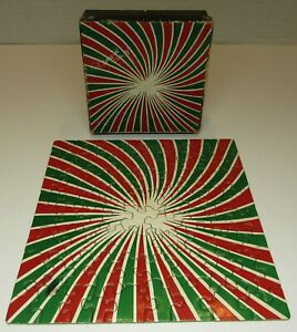 Vintage 1969 Mini Springbok Jigsaw Puzzle ~Bilbao~ by Marcel Barbeau *Complete*