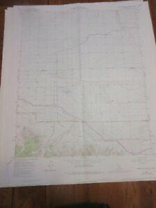 Neenah School CA Quad Topo Map 1965 (Photorevised 1974)  7.5 minute series