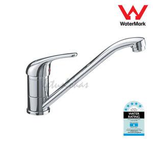 Kitchen Vessel Tap Long Reach Swivel Spout Sink Mixer Faucets One Lever Handle