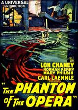 The Phantom of the Opera [New DVD] Silent Movie