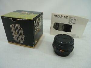 Minolta 45mm F2 MD Rokkor Lens - Thames Hospice