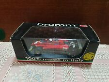 Model Ferrari 1:43 F1 BRUMM in box R273-CH GP USA 1982 Pironi