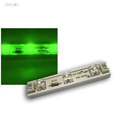 1m LED Strip 7 SuperFlux Module flexibel 12V GREEN LEDs, Strip Rooflight Rail