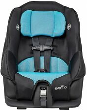 Evenflo Baby Toddler Convertible Safety Blue Kids Child Travel Rearface Car Seat