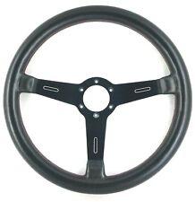 Genuine OEM Saab Momo leather steering wheel. 99 900 900 96 Turbo etc. Rare! 7D