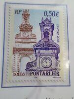 FRANCE 2003 TIMBRE 3608, PONTARLIER, TOURISTIQUE, HORLOGE, neuf**, VF MNH