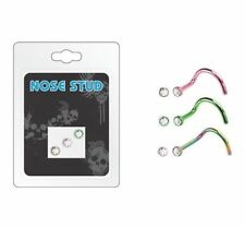 Body piercing naso multicolore