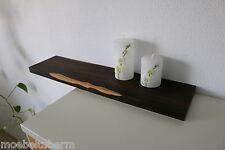 Wandboard Ziricote Massiv Holz Board Regal Steckboard Regalbrett NEU