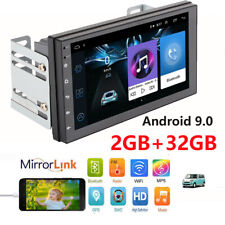 7inch Android 9.0 Car Stereo GPS Navigation Radio MP5 Player Double 2Din WIFI 4G