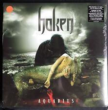 HAKEN Aquarius ORANGE LIMITED 200 vinyl 2Lp + CD remastered FIRST pressing
