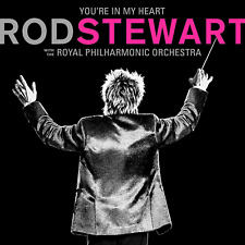 ROD STEWART YOU'RE IN MY HEART(Royal Philharmonic Orch) with Deluxe 2CD Edition