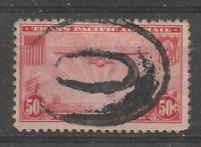 """Us Sc # C22. """"China Clipper: Trans-Pasific Issue. Used"""