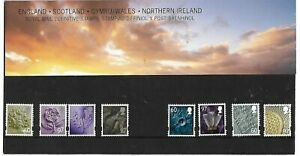 GB - 2010 - ''Four Regions Definitive Pack No.87''