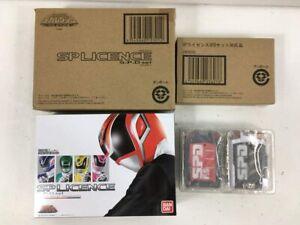 BANDAI Tokusou Sentai Dekaranger SP License & SP License Fire squad ver. SPD Set