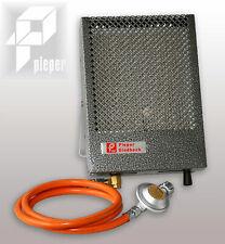Pieper Spezial Kanzelheizung Mini-Cat 1100 Watt mit Schlauch und Regler