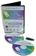 Brand New Funtime Software PRO 2014 for die cutter Cameo + design, rhinestone