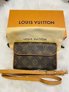 Louis Vuitton Monogram Pochette Florentine Fanny Pack Belt Bag Waist Pouch Small