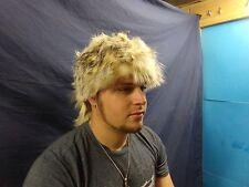 Real animal Badger Hat fur skin hide Pelt taxidermy Mountain man part piece