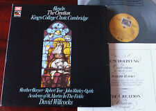 HMV ANGEL SLS 971 HAYDN THE CREATION 2-LP WILLCOCKS NM/NM- GT BRITAIN SAN 347-8