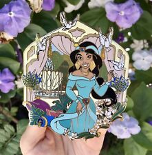 Disney Princess Jasmine Aladdin Le 50 Jumbo Masterpiece Fantasy Pin
