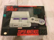 Super Nintendo Console Controller Set Complete In Box