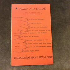 Booklet - First Aid Guide - Civil Defence NSW - 1966