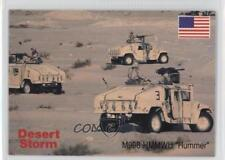 1991 DSI Desert Storm: Weapons & Specifications #26 M998 HMMWV Hummer Card 4f0