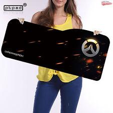 Gran Gaming Mouse Pad 730 X 330mm de superficie velocidad Overwatch y diseños de jugador Mat