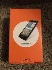 NEW LG Escape 2 - Black & Silver (AT&T) Smartphone