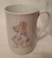 Precious Moments Share With Friends Coffee Mug / Cup Vintage 1984 Clown Enesco