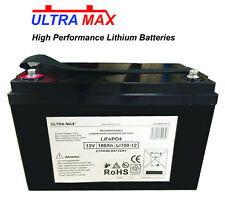 More details for upg ub12900 (45826) 12v 100ah sealed replacement lithium lifepo4 ups battery