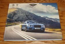 Original 2018 Bentley Flying Spur Range Hardcover Book Sales Brochure 18