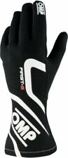 New! FIA OMP First-S 2020 Professional Rally Racing Gloves Black/Red/Blue XXS-XL