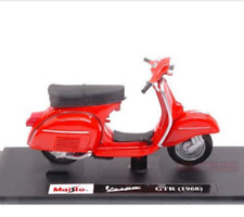 MAISTO 1:18 Vespa GTR 1968 MOTORCYCLE BIKE DIECAST MODEL TOY NEW IN BOX