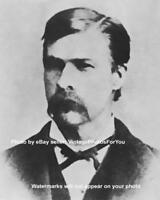 Wild West OK Corral Marshal Sheriff Morgan Earp Wyatt Earp Brother Photo Picture