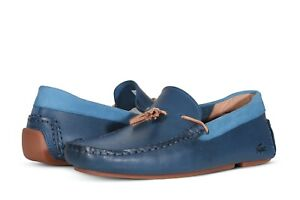 Lacoste Piloter Tassel 0921 1 Men's Loafers in Blue / Gum 7-41CMA0003ACL