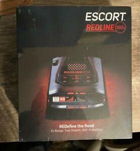 Escort Redline 360 C Radar Detector System - Black