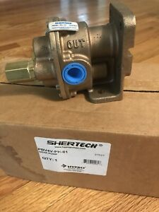 New Genuine Shertech Hypro PBV4V-PH-01 Brass Gear Pump