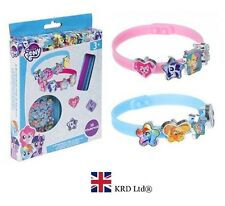 21Pcs My Little Pony MAKE YOUR OWN BRACELET SET Charm Bangle Kids Birthday Gift