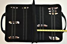 Pocket Knife Storage Case Folding Knife Pouch Carrier Holder Padded 44 Slots