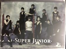 Super Junior Star Collection - SJ Group Hot Stamping Card
