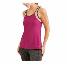 34c107d8624a52 Avia Active Workout Tank Top Semi-Fitted Womens Singlet Pink Purple