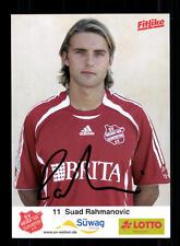 Souad rahmanovic AUTOGRAFO scheda SV travaglio 2006-07 ORIGINALE FIRMATO + a 141113