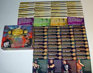Wwe Lucha Manía XIX 90 tarjeta conjunto básico por Fleer 2003