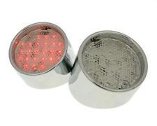 LUZ TRASERA LED Transparente Cromo APRILIA SR 50 Sigilo Carreras Netscaper WWW
